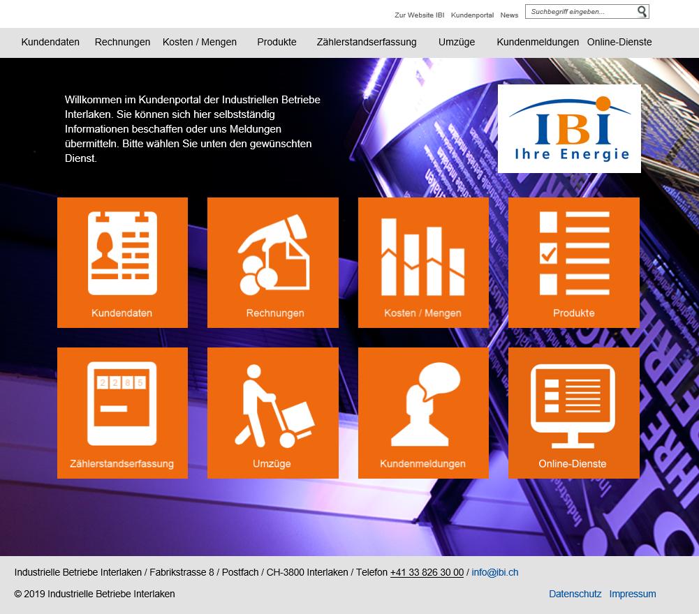 IBI Kundenportal